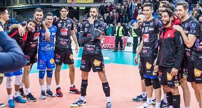 Volley, Champions: Civitanova show