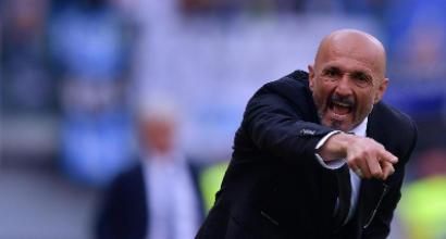 Luciano Spalletti nel post Pescara-Roma: