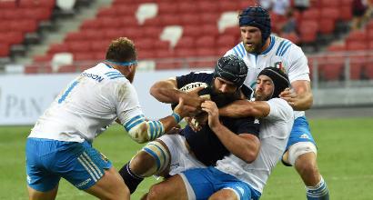 Rugby, Test Match: l'Italia non va, la Scozia passeggia
