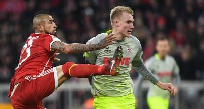 Bundesliga: il Bayern batte 1-0 il Colonia e vola a +9