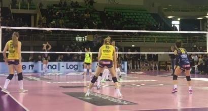 Volley, A1 donne playoff: Conegliano perfetta, Scandicci ko