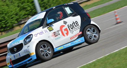 Smart EQ fortwo e-cup, la classifica generale dopo due tappe