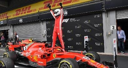 Vettel cancella il disastro del sabato