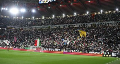 Juve, Curva Sud chiusa una giornata per coro razzista: niente ultras contro il Genoa
