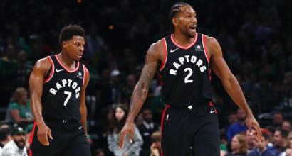 Nba: ai Clippers non basta Gallinari contro Philadelphia, Leonard ne mette 45 e Toronto stende i Jazz