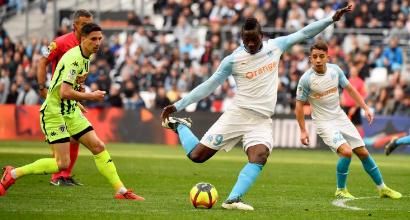 Ligue 1: doppio Balotelli non basta, Marsiglia rimontato dall'Angers
