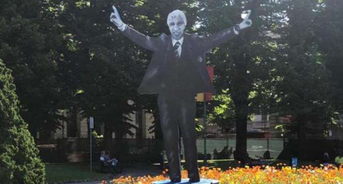 Gasperini, momento d'oro: a Bergamo spunta una statua in suo onore