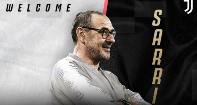 Juventus, la presentazione di Sarri giovedì alle 11 all'Allianz Stadium