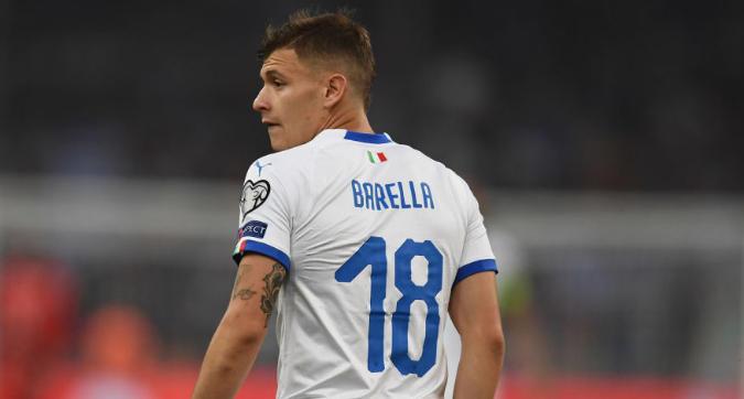 Inter, Conte telefona a Barella: sorpassata la Roma