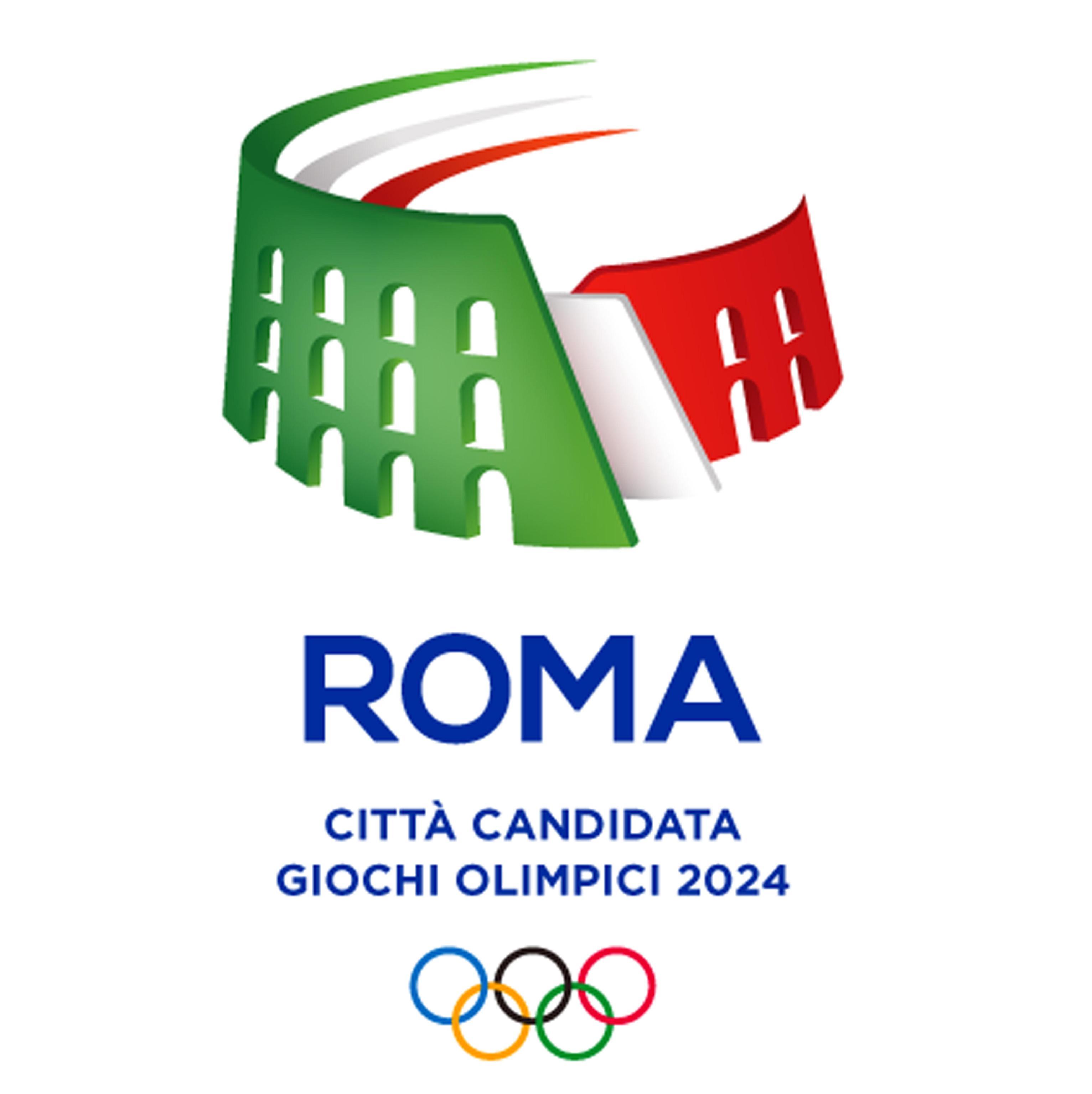 Roma 2024, ecco il logo della candidatura
