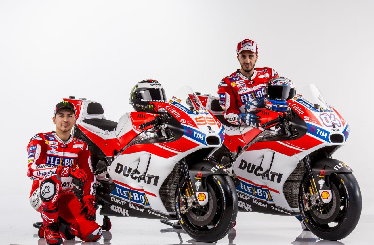 MotoGP, ecco il team Ducati