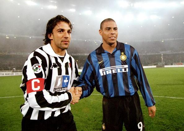 Juventus vs Inter 1998: Del Piero e Ronaldo