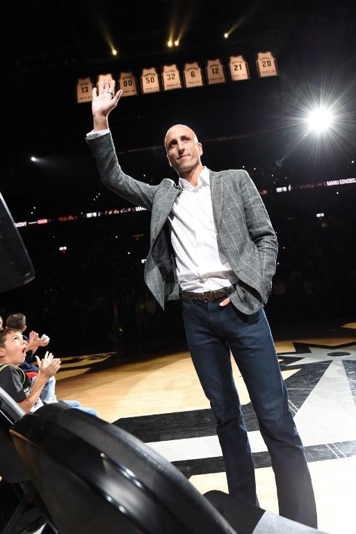 Omaggio Spurs all'argentino. Cerimonia davanti al suo pubblico
