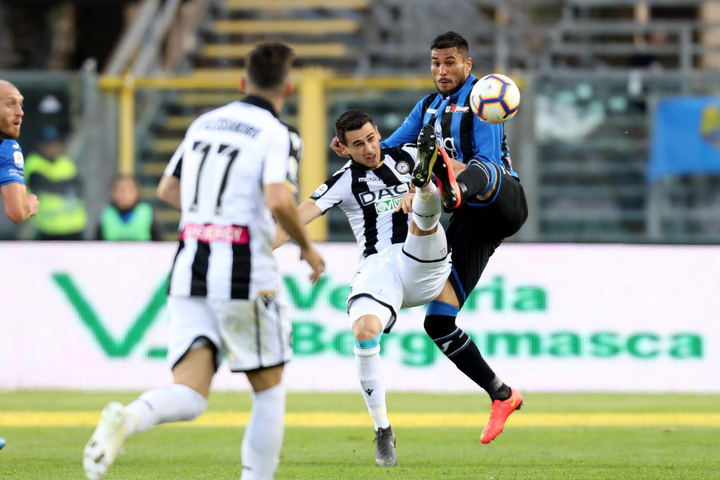 Le immagini del posticipo a Bergamo tra Atalanta e Udinese