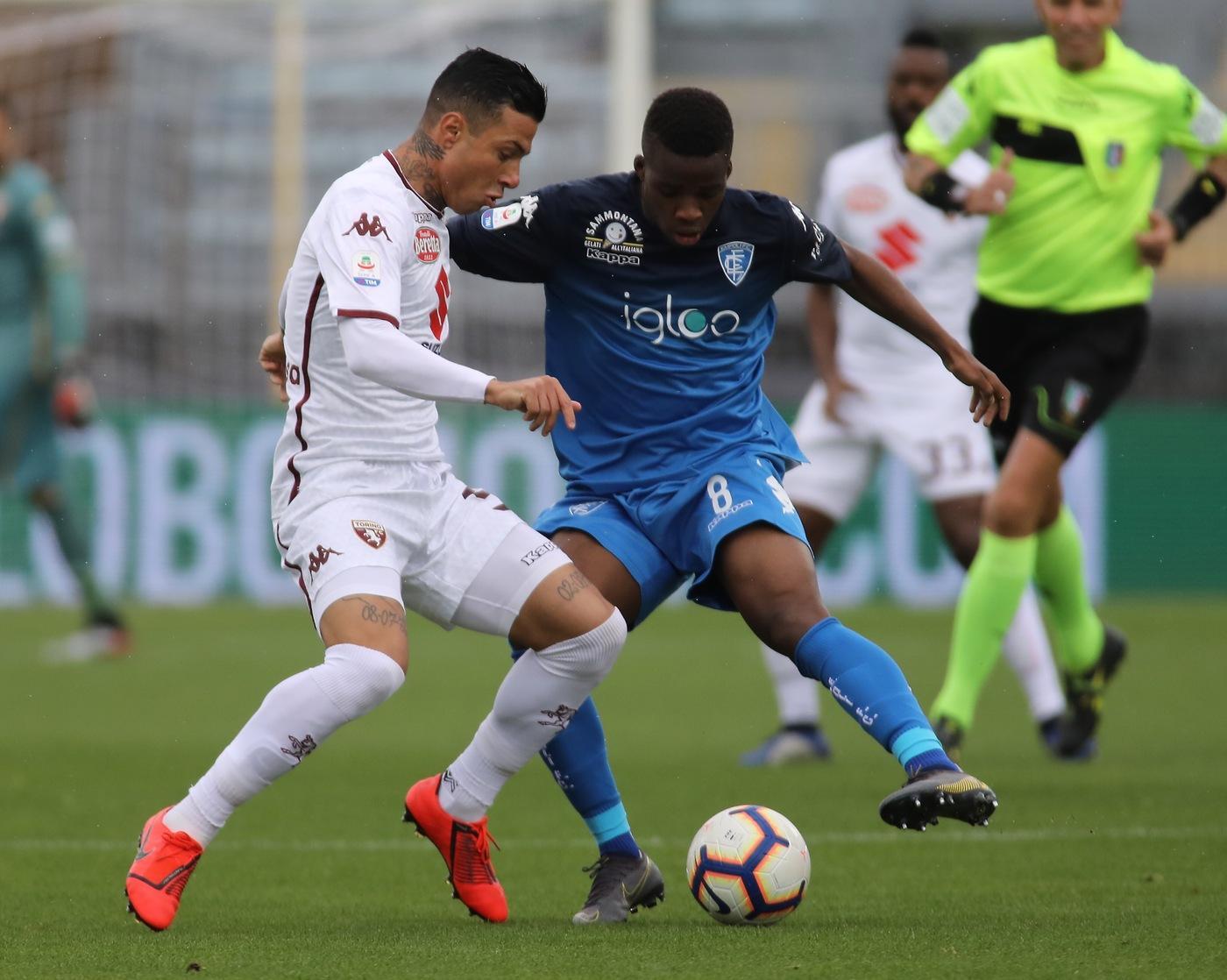Serie A: l'Empoli schianta il Toro e vede la salvezza