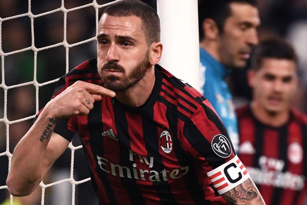 8 - Leonardo Bonucci al Milan (42 mln)