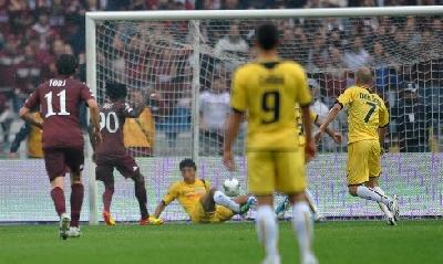 Il gol di Oduamadi, Lapresse
