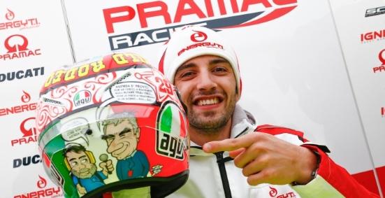 Il dott. Costa sul casco - Motogp - Sportmediaset - Foto 5