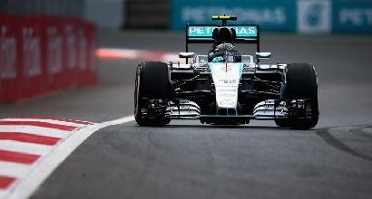 F1, libere 2 in Messico: Rosberg rialza la testa
