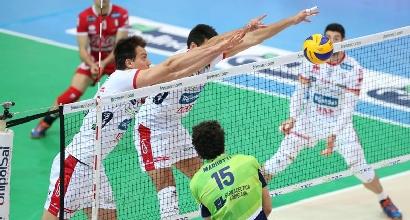 Volley, Champions: Trento implacabile, Tours liquidato