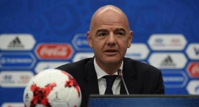 Fifa, Infantino presenta il mondiale a 48 squadre