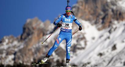 Mondiali biathlon, Runggaldier 3°