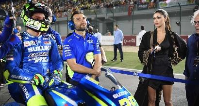 MotoGP, crisi Iannone: la Suzuki nega di voler allontanare Belen dal box