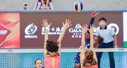 Volley, World Gran Prix Donne: rivincita Italia, Cina battuta
