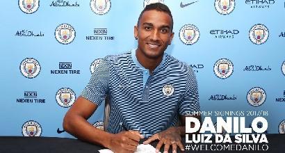 Manchester City piglia tutto: preso Danilo, arriva Mendy