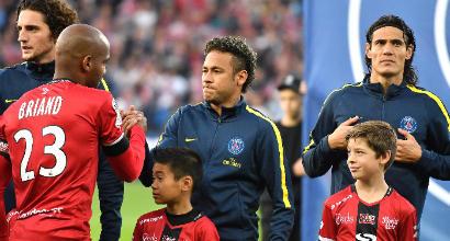 Polveriera Psg: Paperone Neymar è solo