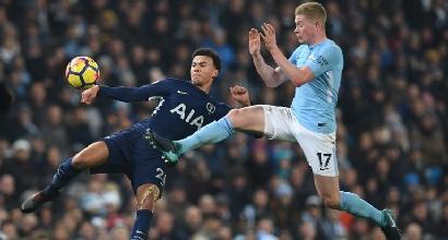 Premier League, United-City 1-2: Guardiola, le mani sul titolo