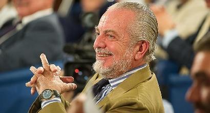 """Napoli, de Laurentiis: """"Mercato? Abbiamo calciatori a iosa"""""""
