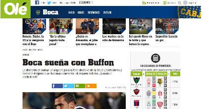 Tevez vuole Buffon al Boca, la pazza idea di calciomercato dall'Argentina