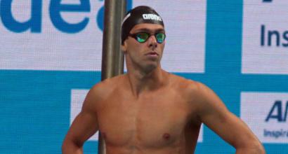 Europei nuoto, sui 1500 Paltrinieri soltanto bronzo. L'oro al tedesco Wellbrock