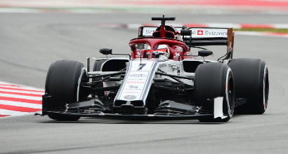 F1, test Montmelò: Kvyat beffa l'Alfa Romeo di Raikkonen, Vettel 4°