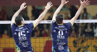 Volley, Cev Cup: doppietta italiana con Trento e Busto