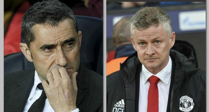 """Barcellona, Valverde: """"Ricordiamoci cos'ha fatto lo United in trasferta"""". Solskjaer: """"Serve uno sforzo colossale"""""""