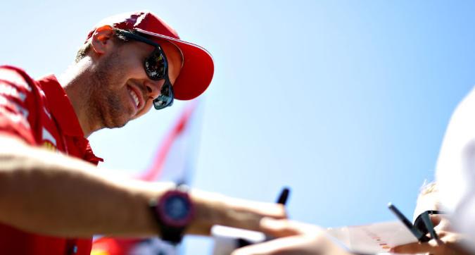 F1, Vettel non molla: