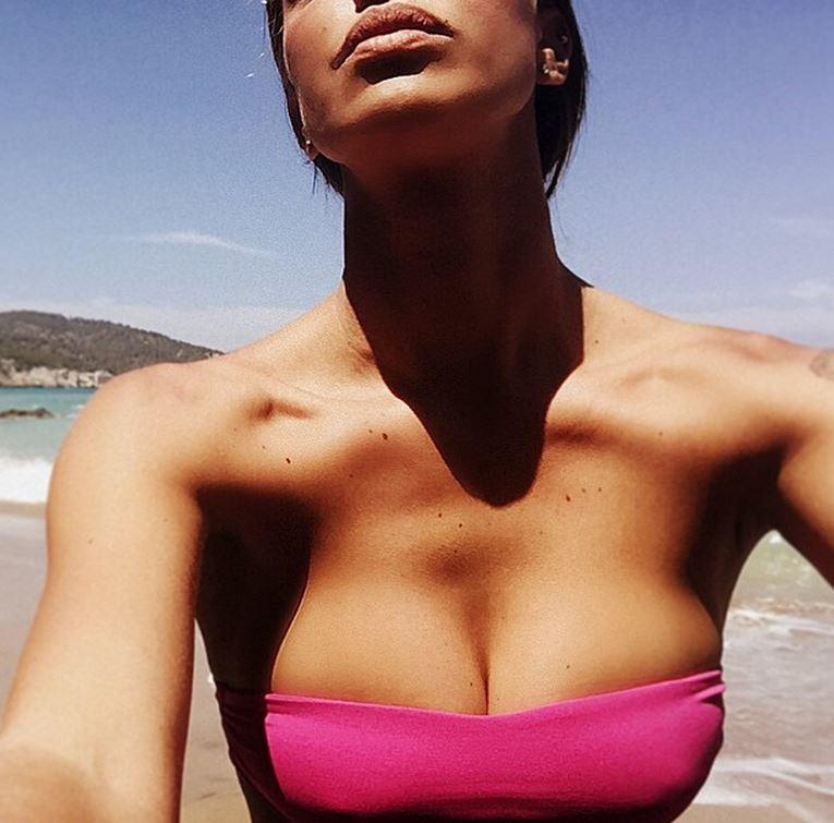 Belen Rodriguez, mamma sexy