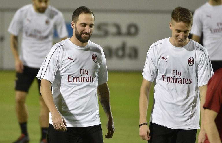 Supercoppa, il Milan prepara la sfida alla Juve