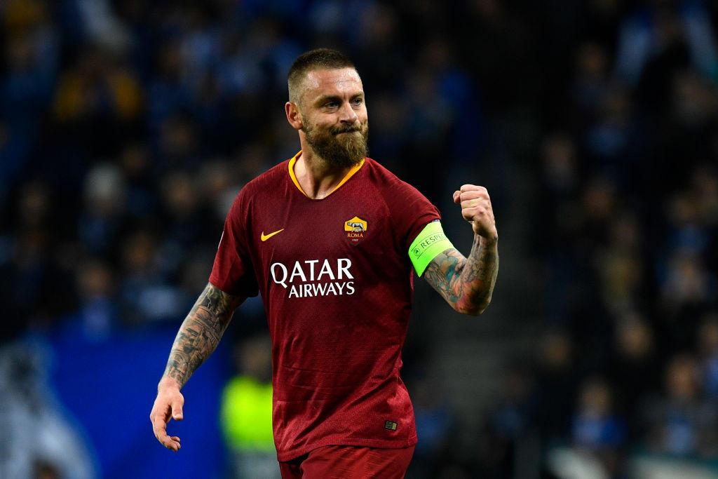 Daniele De Rossi, 35 anni, ha dovuto dire addio alla Roma ma continuerà a giocare