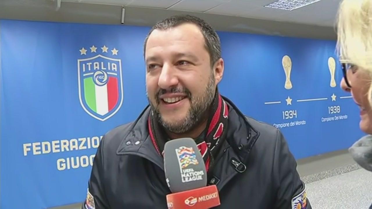 Riforma del Coni, Salvini: