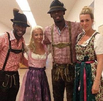 Bolt bavarese quasi perfetto: eccolo all'Oktoberfest