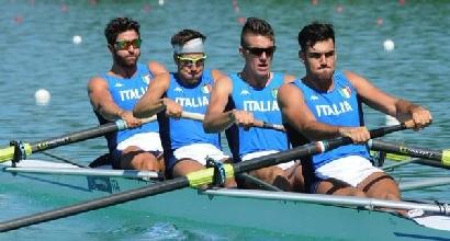 Vicino, Lodo, Castaldo e Di Costanzo; FederCanottaggio