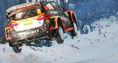 Rally Svezia: Ostberg fa suo il Colins Crest