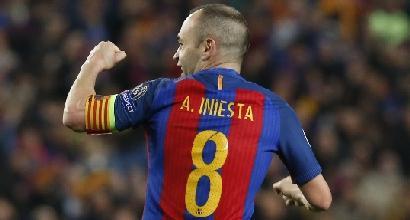 Barcellona, il pensiero fisso di Iniesta è la Champions: rifiutata super-offerta dalla Cina