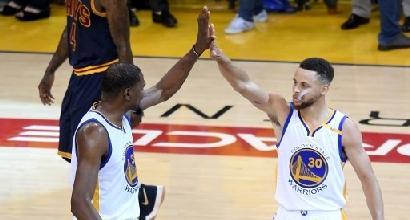 Nba: Durant trascina i Warriors in gara-1 finale, Lebron ko