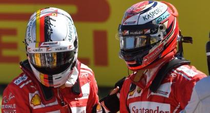 Vettel-Raikkonen, AFP