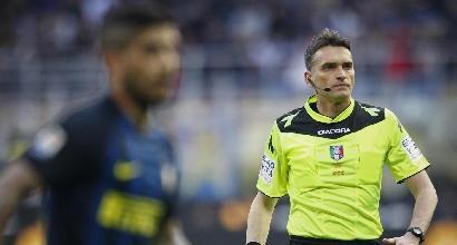 Arbitri: Roma-Inter a Irrati