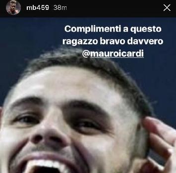 """Balotelli: """"Magari il Milan si sveglia e compra Icardi"""""""